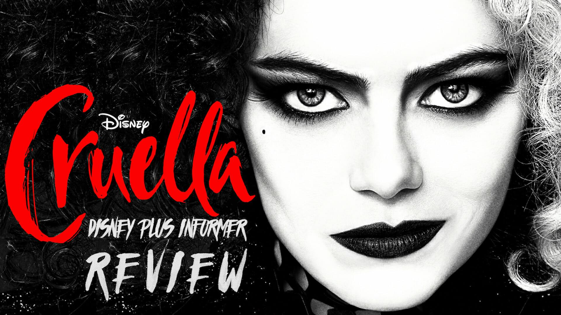 Cruella Review: Emmas Stone & Thompson Deliver Slick Performances in 70's Glam Punk Retelling of Disney's Fur-crazed Villainess Cruella deVil