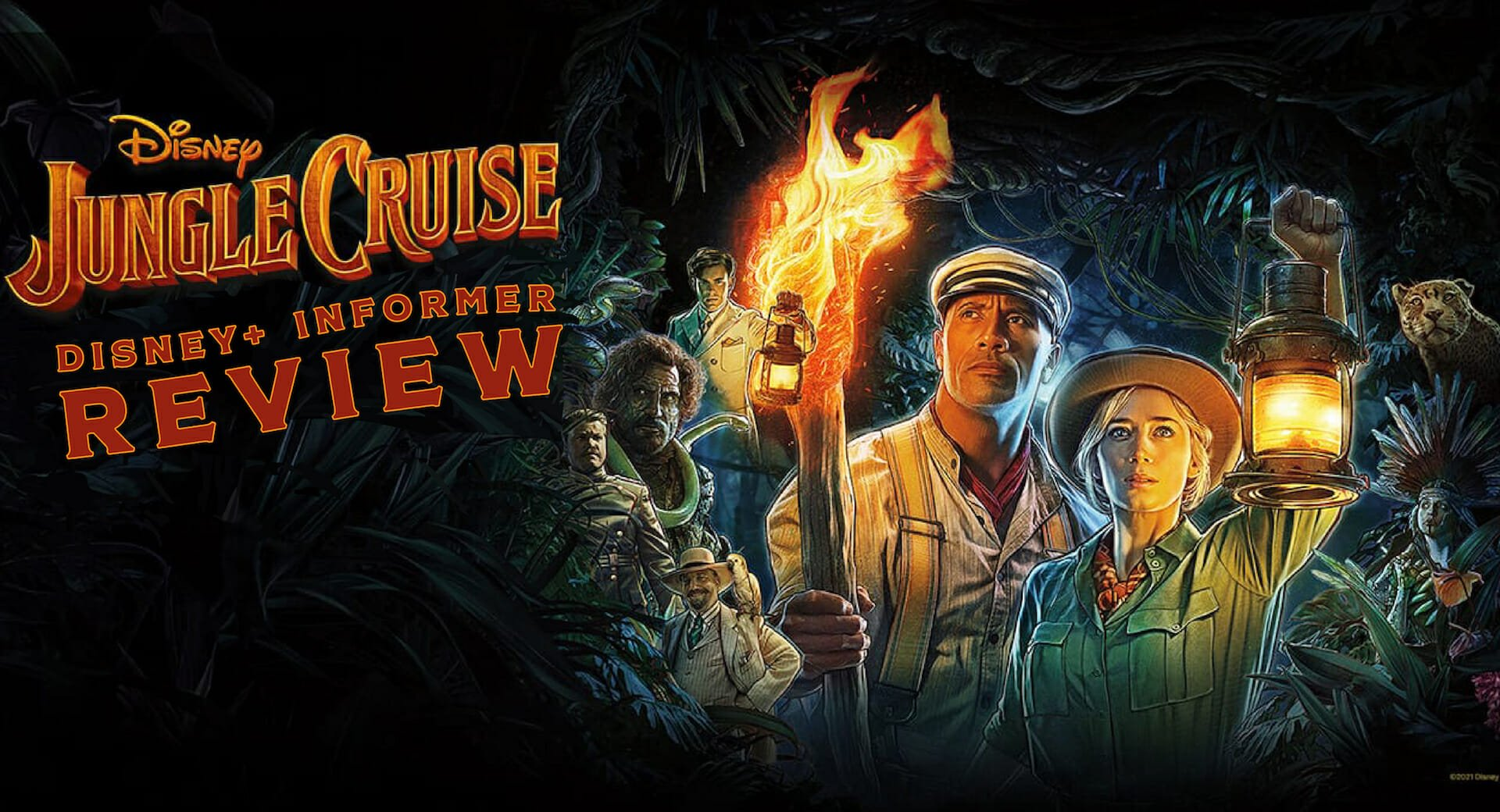 Jungle Cruise Review: It's Full Steam Ahead as Disney Gives us the Film of the Summer!