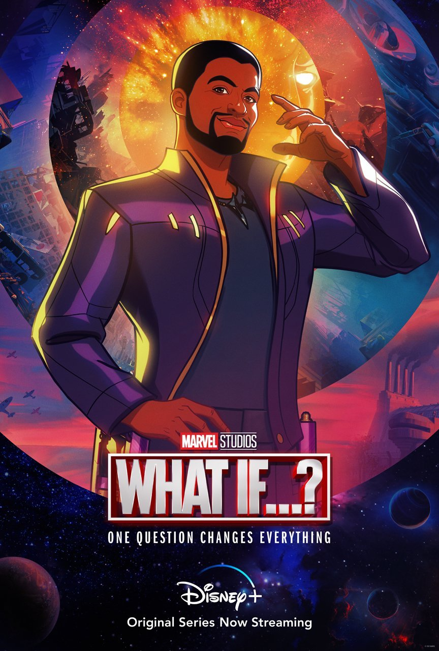 Marvel's 'What If…?' T'Challa Star-Lord Character Poster Released - Disney Plus Informer