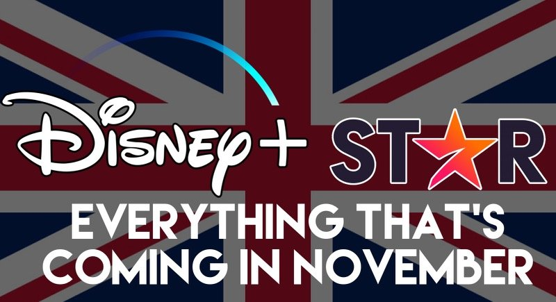 Full List: Everything That's Coming To Disney+ In November (UK/IRE)